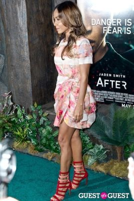 jada pinkett-smith in After Earth Premiere
