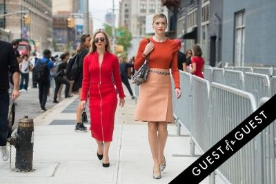 jaime king in Fashion Week Street Style: Day 2