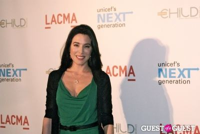 jaime murray in UNICEF Next Generation LA Launch Event