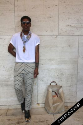 jamal jackson in NYFW Style From the Tents: Street Style Day 3