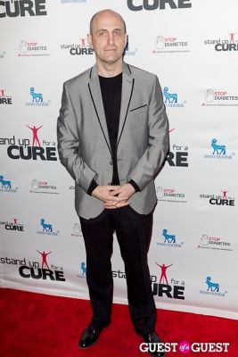 james biberi in Stand Up for a Cure 2013 with Jerry Seinfeld