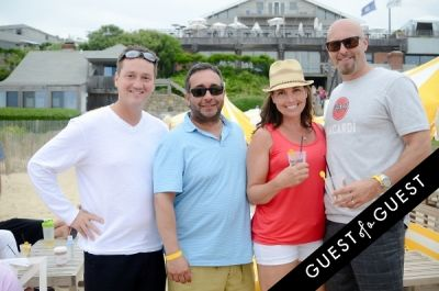 james cooke in Turn Up The Summer with Bacardi Limonade Beach Party at Gurney's