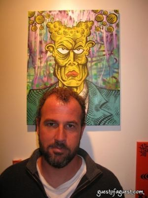 james frey in Damon Johnson Gallery Opening