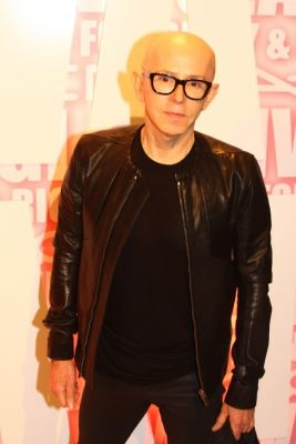 james gager in MAC Viva Glam Launch with Nicki Minaj and Ricky Martin