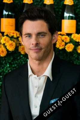 james marsden in The Sixth Annual Veuve Clicquot Polo Classic Red Carpet