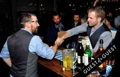 james moore in Barenjager's 5th Annual Bartender Competition
