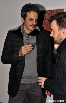 james slade in Garrett Pruter - Mixed Signals exhibition opening