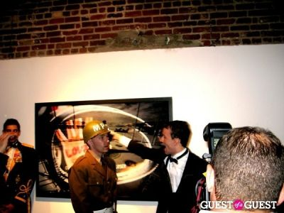 tyler shields in Tyler Shields' 'Collisions' Party