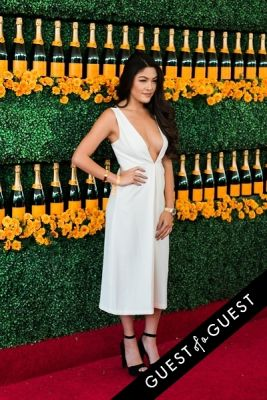 jamie charoen in The Sixth Annual Veuve Clicquot Polo Classic Red Carpet