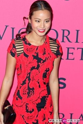 jamie chung in 2013 Victoria's Secret Fashion Pink Carpet Arrivals