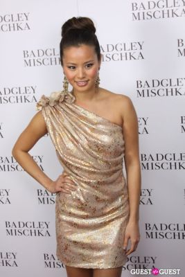 jamie chung in Badgley Mischka