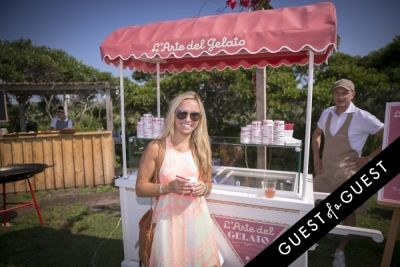 jamie myszka in GUEST OF A GUEST x DOLCE & GABBANA Light Blue Mediterranean Escape In Montauk