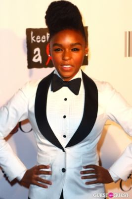 janelle mon in COVERGIRL Presents, Keep A Child Alive's Black Ball NY 2010