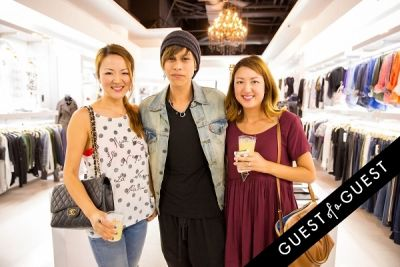 janet kim in WILLIAM Sample Sale at Brigade LA
