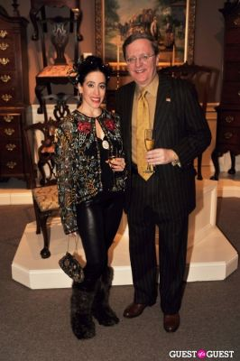 larry larose in Winter Antiques Show Young Collectors Night