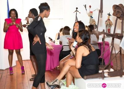 seanna walker in Brave Chick B.E.A.M. Award Fashion and Beauty Brunch