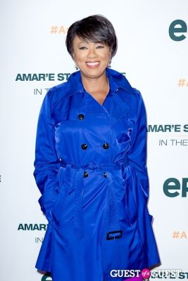 janice huff in Amar'e Stoudemire In The Moment Premiere