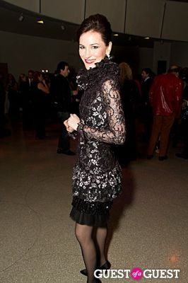 janis gardner-cecil in Guggenheim International Gala in Celebration of Maurizio Cattelan Retrospective