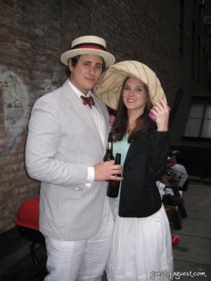 jared baumeister in Kentucky Derby Rooftop Party