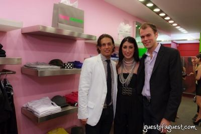 jared clark in Sip & Shop for a Cause benefitting Dress for Success