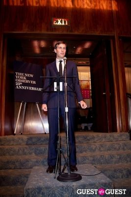 jared kushner in The New York Observer 25th Anniversary