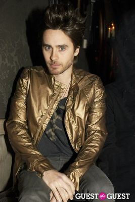 jared leto in Charlotte Ronson Fall 2010 After Party