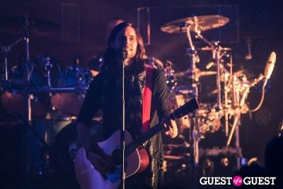 jared leto in 30 Seconds to Mars at First Unitarian Church
