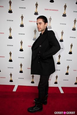 jared leto in Terrywood - Terry Richardson Gallery Opening