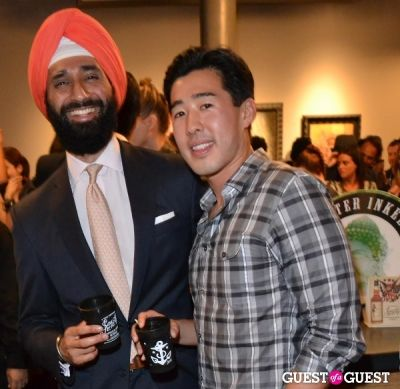 jas khaira in Grand Opening of Wooster St Social Club/ NY INK