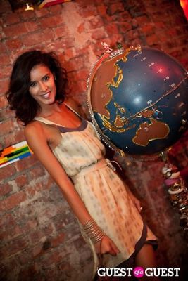 jaslene gonzalez in Harper's Bazaar and The ONE Group Host the Opening of The Collective