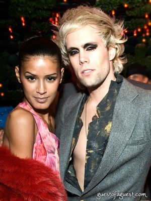 justin tranter in Gotham Lasik Vision Party