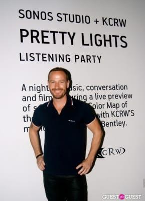 jason bentley in Pretty Lights & KCRW at Sonos Studio