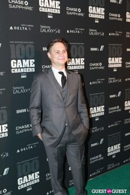 jason binn in 2011 Huffington Post and Game Changers Award Ceremony