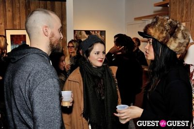 rosie ellis in Mickalene Thomas' Decopolis: the talent of others opening reception