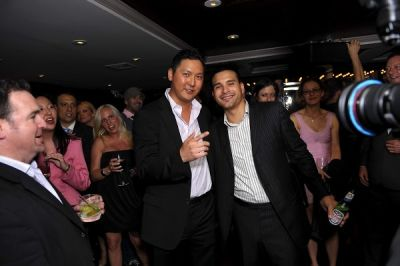 louis sarmiento in Jason Kim + Louis Sarmiento's 30th Birthday