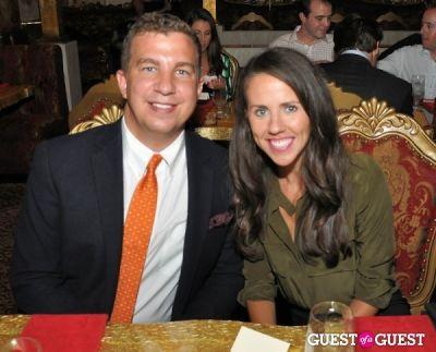 jason mandel in DC Modern Luxury Magazine's Lindsey Becker's Dinner for 25 Tastemakers at SAX