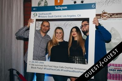 anita vardanyan in Food Haus Café One Year Anniversary Party