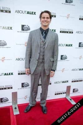 jason ritter in Los Angeles Premiere of ABOUT ALEX