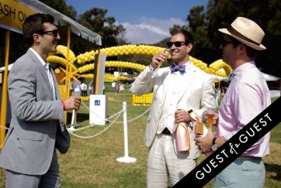 lucas fisher in The Sixth Annual Veuve Clicquot Polo Classic