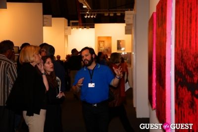 javier peres in Art Los Angeles Contemporary Opening Night Reception