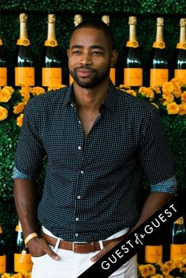 jay ellis in The Sixth Annual Veuve Clicquot Polo Classic Red Carpet