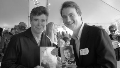 fredrik stanton in East Hampton Author's Night