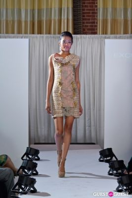 jaycyll brown in Exclusiva Eventi Fashion Show