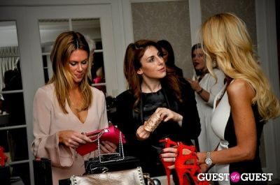 jayne sandman in Vogue and Net-A-Porter 12-12-12 Party
