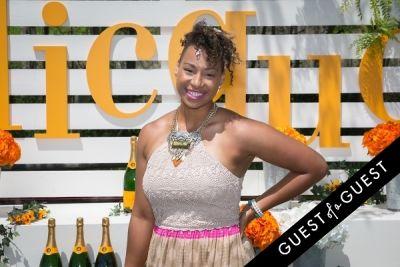 jazmine fenlator in Veuve Clicquot Polo Classic 2014