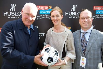 jean claude-biver in Hublot and Manchester United Million Dollar Challenge