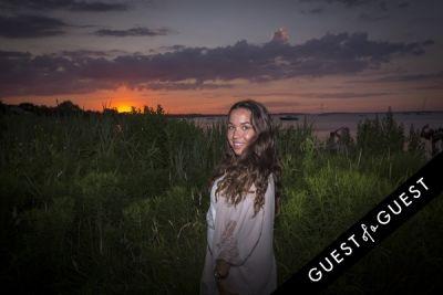jeanette dragonetti in GUEST OF A GUEST x DOLCE & GABBANA Light Blue Mediterranean Escape In Montauk