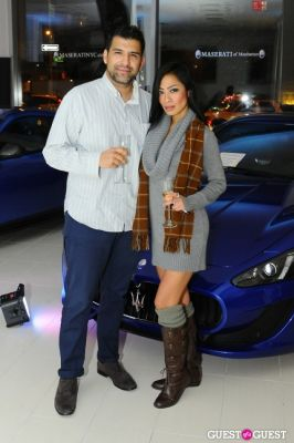 jeannette josue in Maserati Of Manhattan & Gotham Magazine Cocktail Party