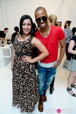 jeannie ortega in Tyler Shields and The Backstreet Boys present In A World Like This Opening Exhibition