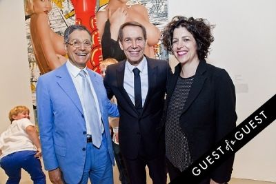 jeff koons in Jeff Koons: A Retrospective Opening Reception